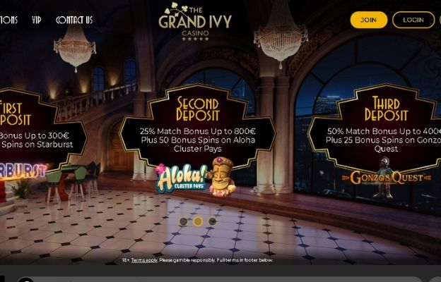 UK online casinos Grand Ivy